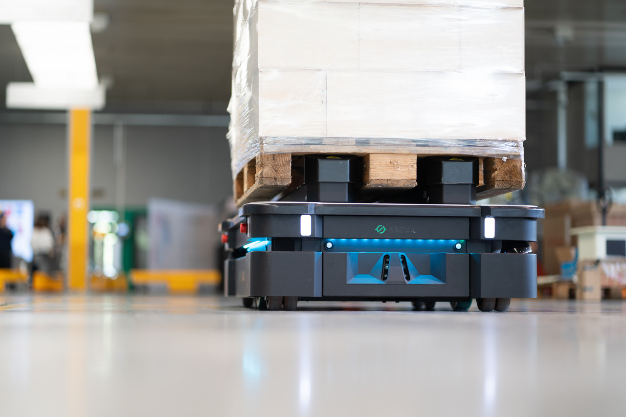mobilny robot autonomiczny